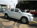 Toyota Hilux 3.0 TDI 4x4 CD SRV Top (Aut) 2014/2015 4P Branco Diesel