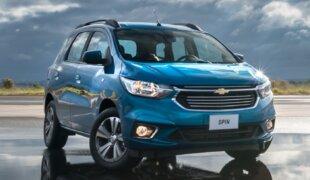 Chevrolet Spin 2019 é lançada no Brasil com mais versões