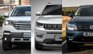 Lifan X80, Jeep Compass ou VW Tiguan? | Em números