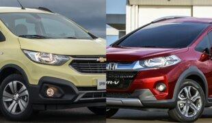 Chevrolet Spin Activ AT ou Honda WR-V EX CVT? | Em números